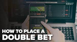 How to Make a double Bet